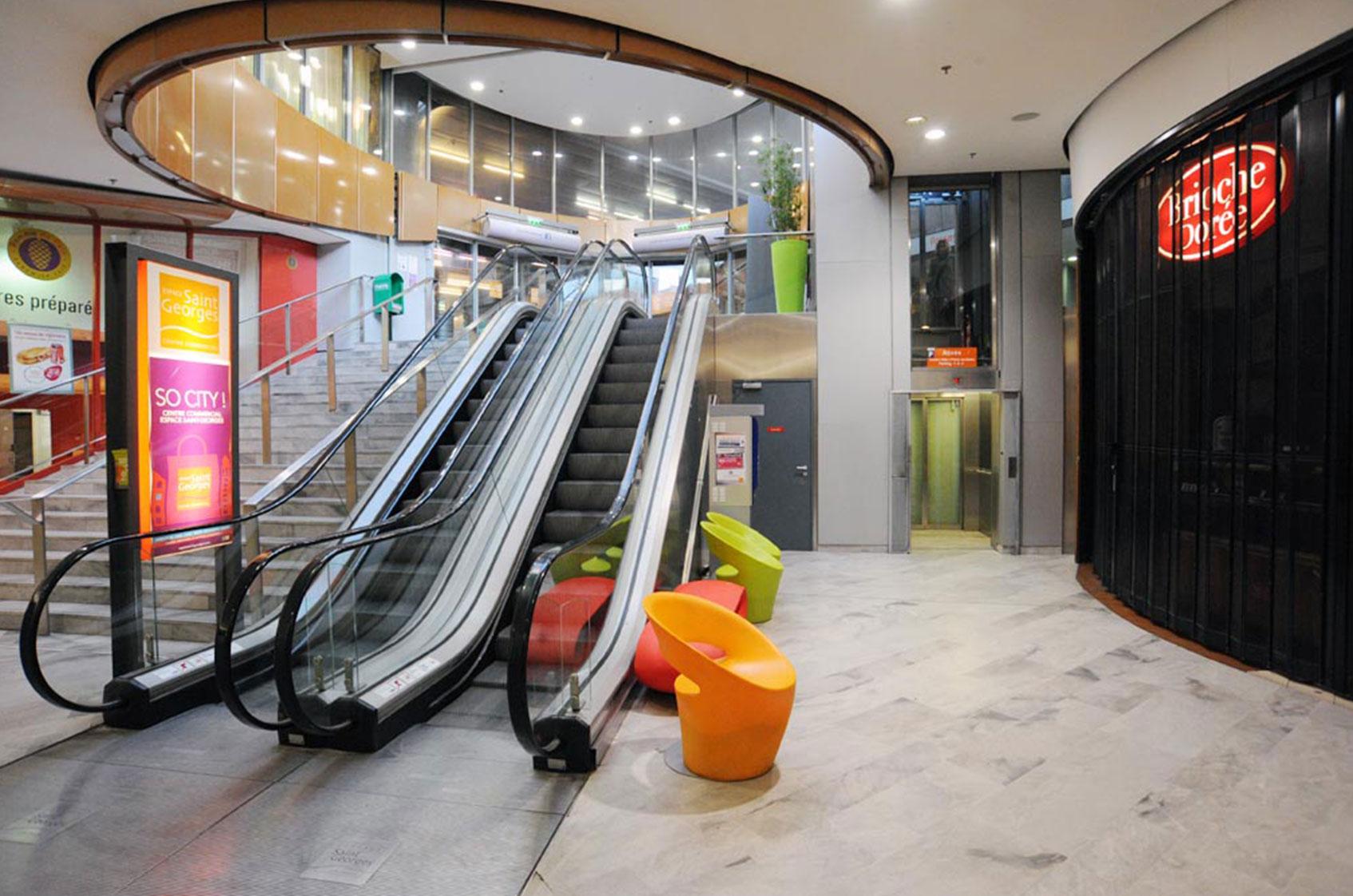 Centre commercial Saint Georges, Toulouse.