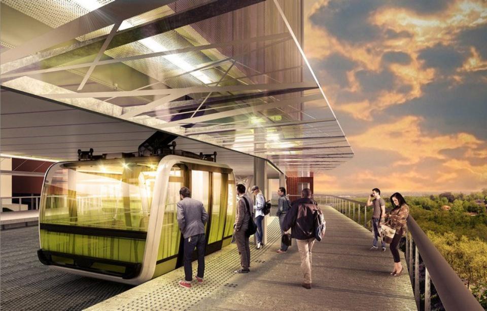 Téléphérique Toulouse en 2020