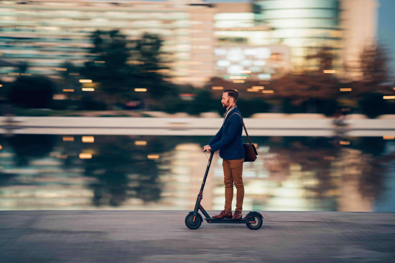 Trottinettes électriques et loi mobilités