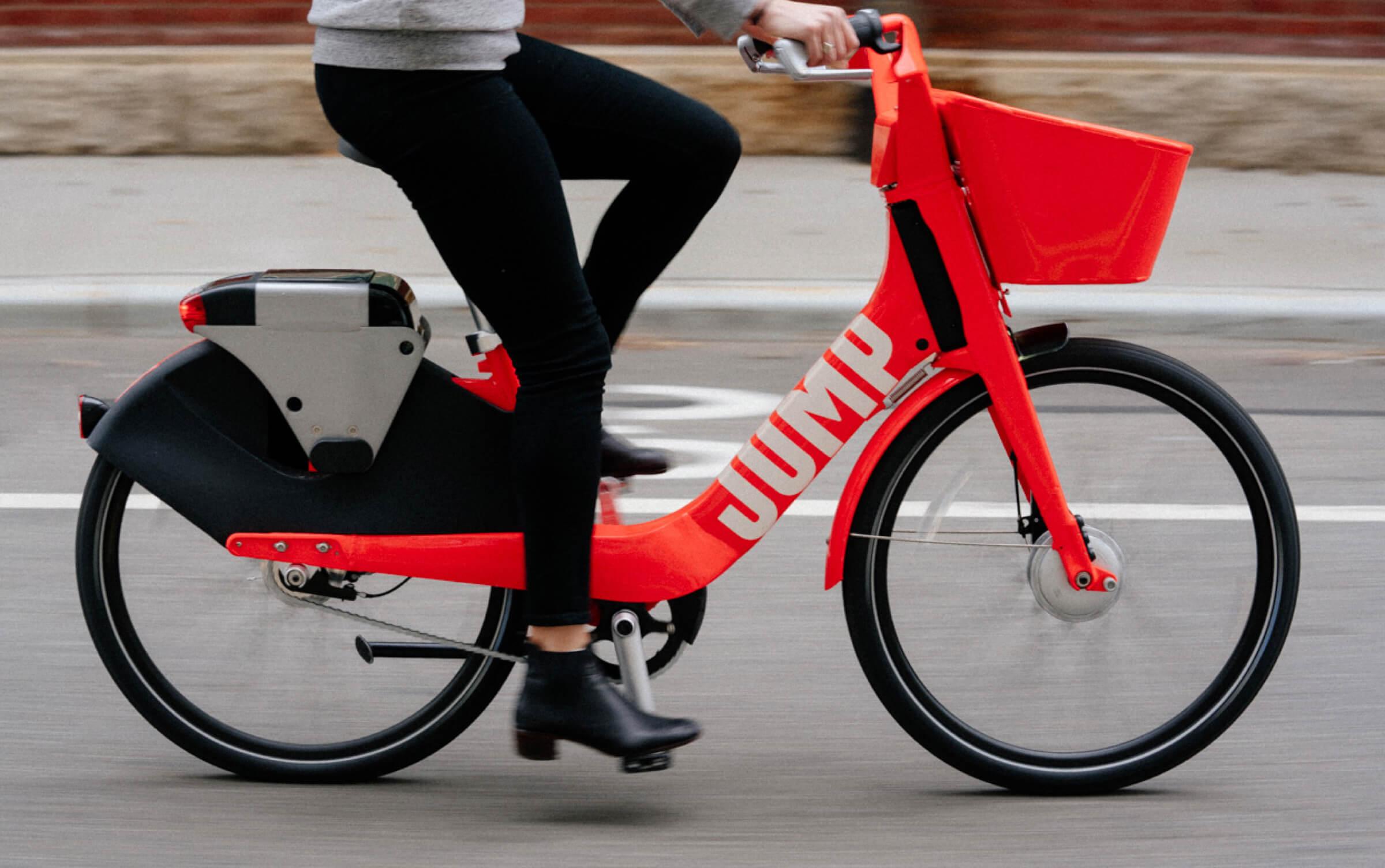 Les vélos électriques Jump disponibles à Londres