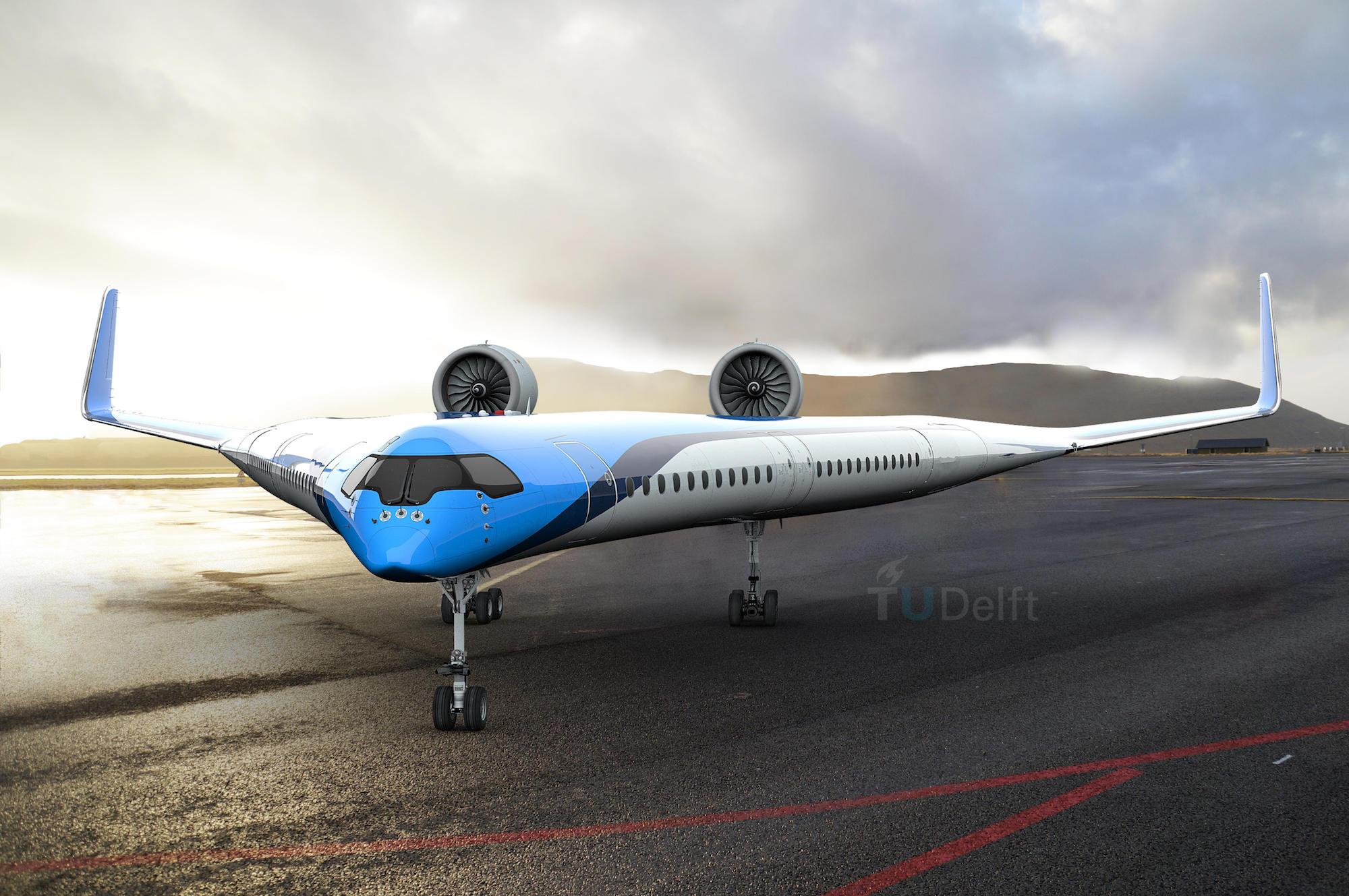 L'avion du futur, le Flying V