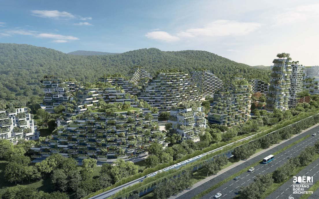 Ville-fôret en Chine - Liuzhou Forest City