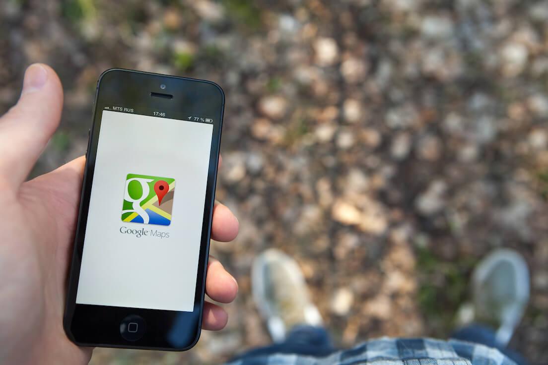 Google Maps covoiturage et vélos libre-service