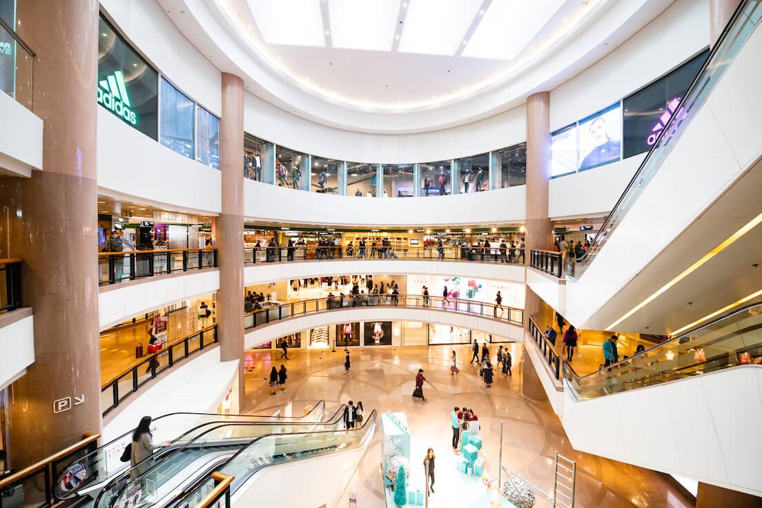 Centres commerciaux satisfaction client thyssenkrupp ascenseurs